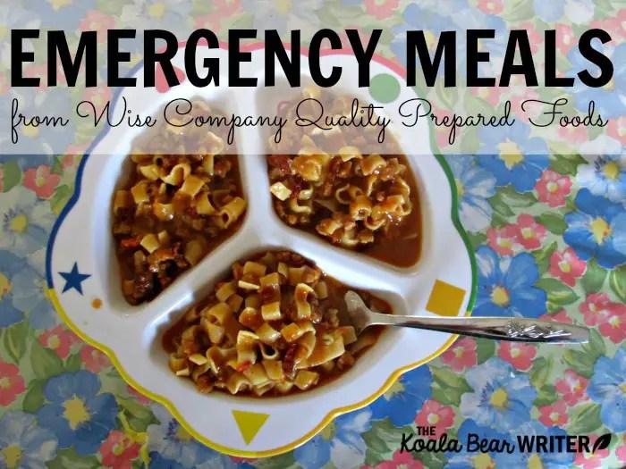 wise-company-emergency-food