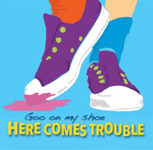 Goo on My Shoe CD by Here Comes Trouble