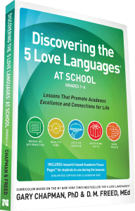 Discovering the 5 Love Languages at School