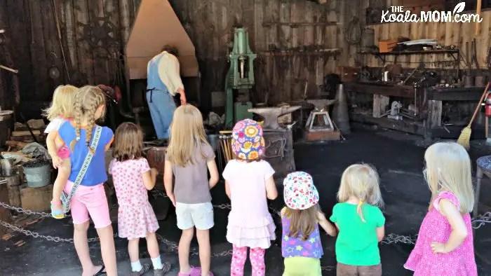 Burnaby Village Museum blacksmith