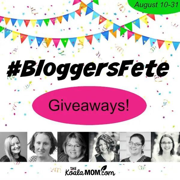 BloggersFete 2015 giveaways!