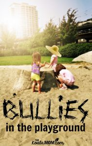 Bullies in the Playground