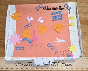 Create an Art Box for Your Child's Artwork