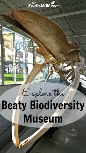 The Beaty Biodiversity Museum at UBC