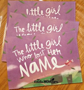 Lost My Name: a personalized storybook for kids