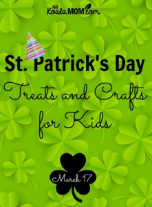 St. Patrick's Day Treats and Crafts for Kids
