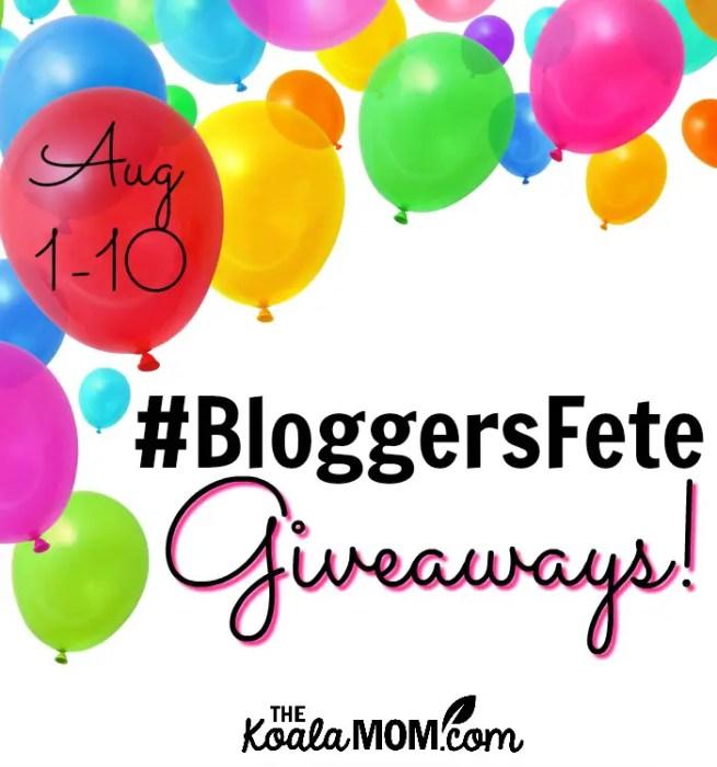 BloggersFete giveaways