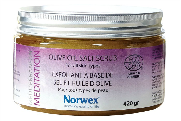 Norwex Mediterranean Meditation Organics Olive Oil Salt Scrub