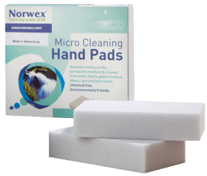 One of my favourite Norwex cleaning products: Norwex Micro Cleaning Hand Pads