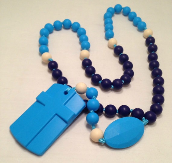Rosary Chews (silicone rosary for teething babies)