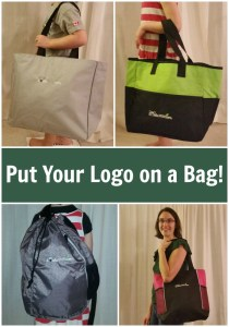 Advertise Your Business with a Logo'd Bag from Bravo Apparel #giveaway