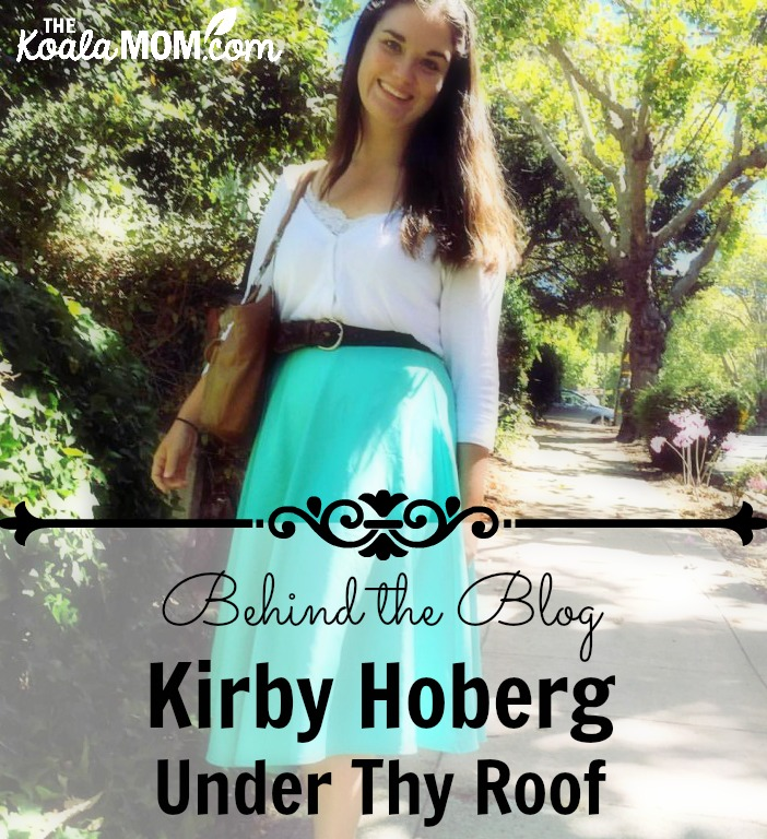 Kirby Hoberg from Under Thy Roof blog
