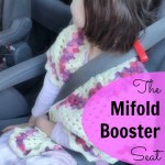 The Mifold Booster Seat revolutionizes travel with kids