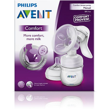 Philips Avent Manual Breast Pump in box
