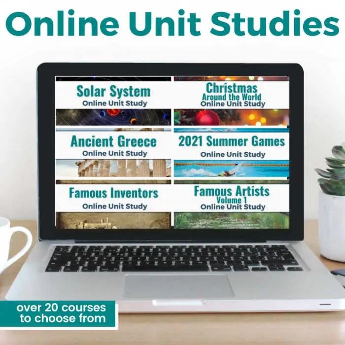 Online Unit Studies Mega Sale!