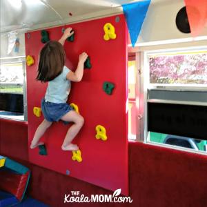 Birthday on a Bus: Lily's Fun GymBus Birthday Party!