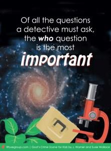 God's Crime Scene for Kids Mystery Investigation Kit Giveaway