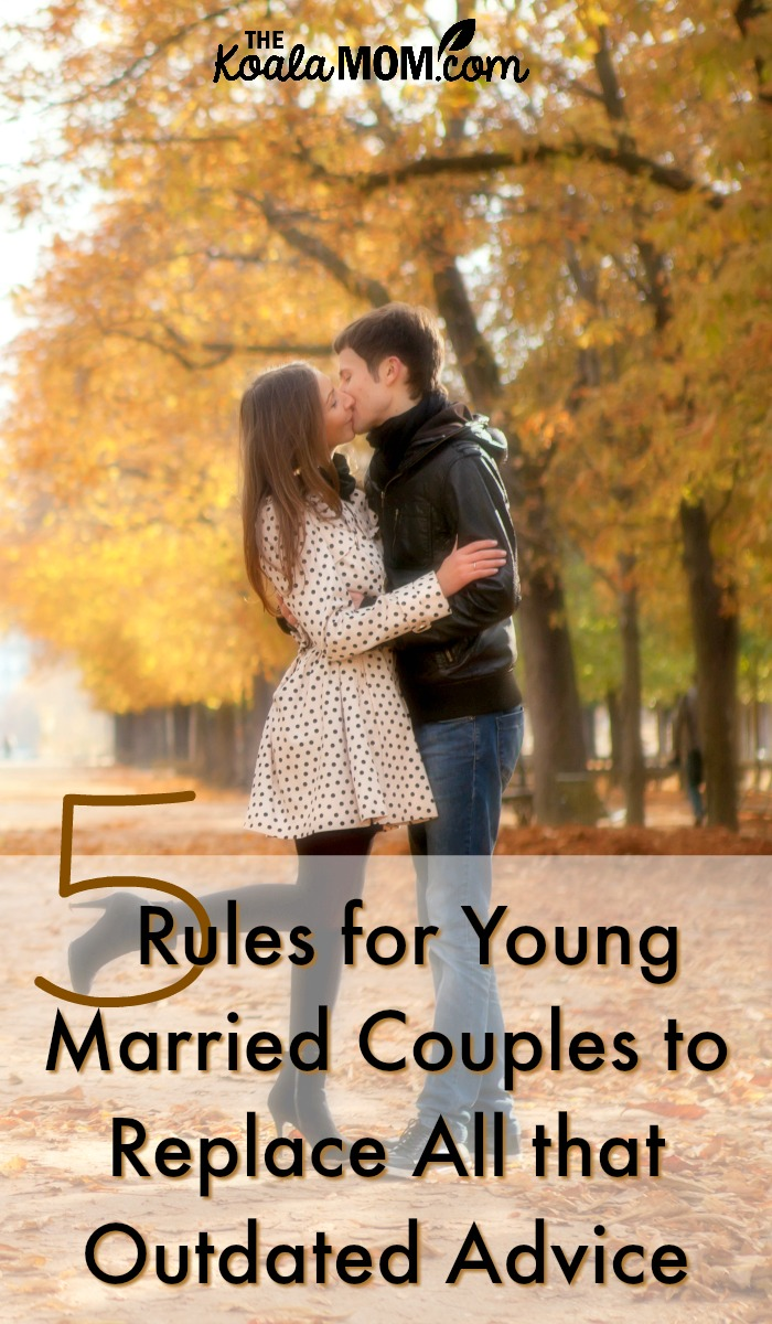 5 Rules for Young Married Couples to Replace all that Outdated Advice