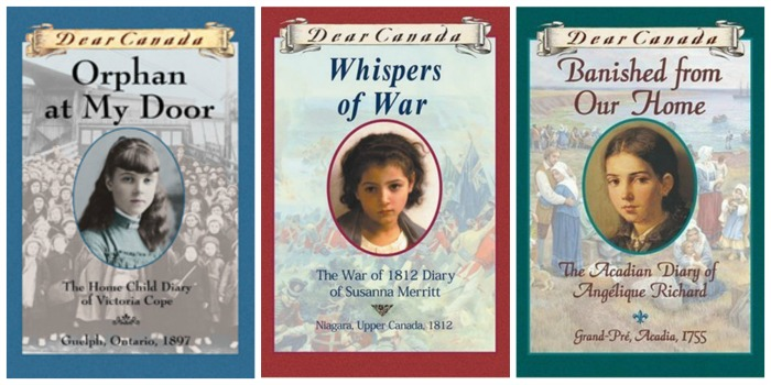 Dear Canada novels teach girls about Canadian history