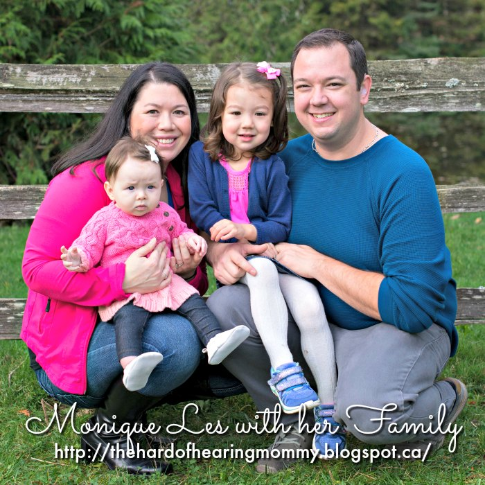 Monique Les, Love Rebel co-author, with her husband and two daughters