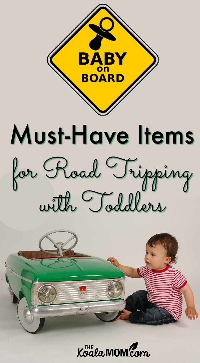 Must-have items for road trips with toddlers