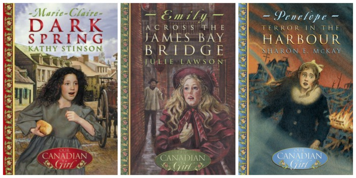 Our Canadian Girl novels, volume one