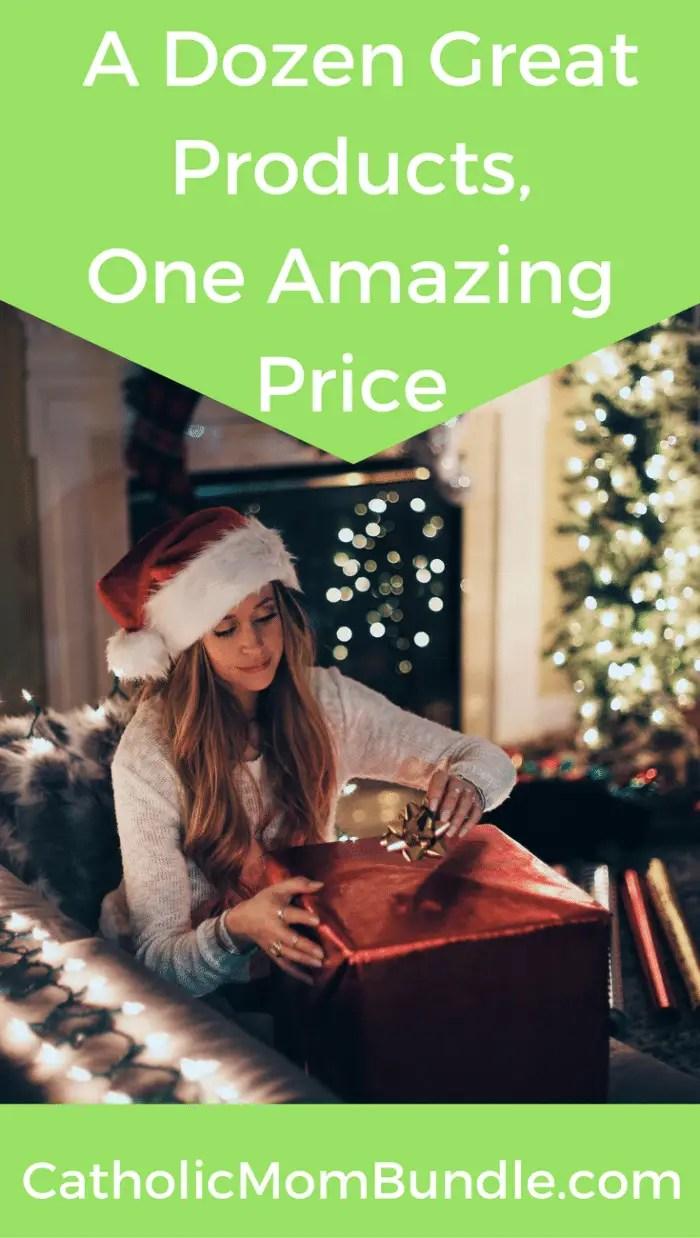 A dozen great products, one amazing price! The Catholic Mom Bundle 2017