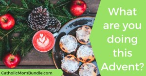Keeping Advent in Advent (even as a busy mom!)