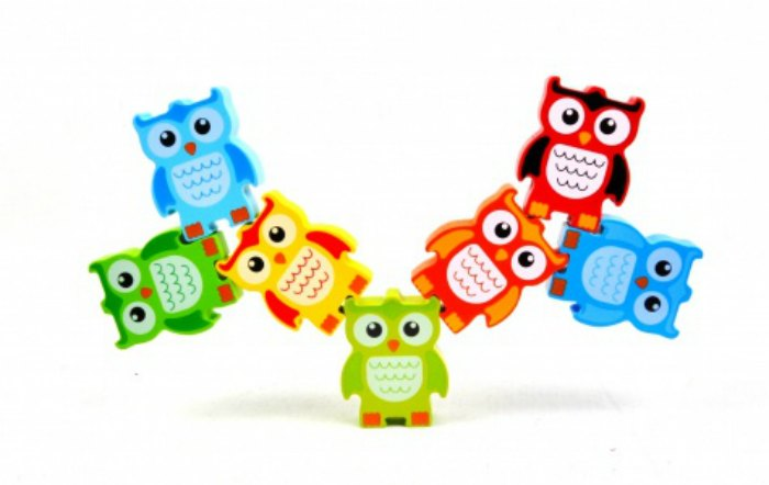 Discovery Toys Stacking Owls