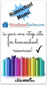 SchoolhouseTeachers.com is your one-stop site for homeschool resources!