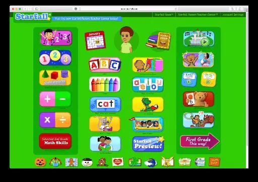 Starfall educational app