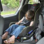 The Britax Emblem™ Convertible Car Seat keeps Pearl safe on the road