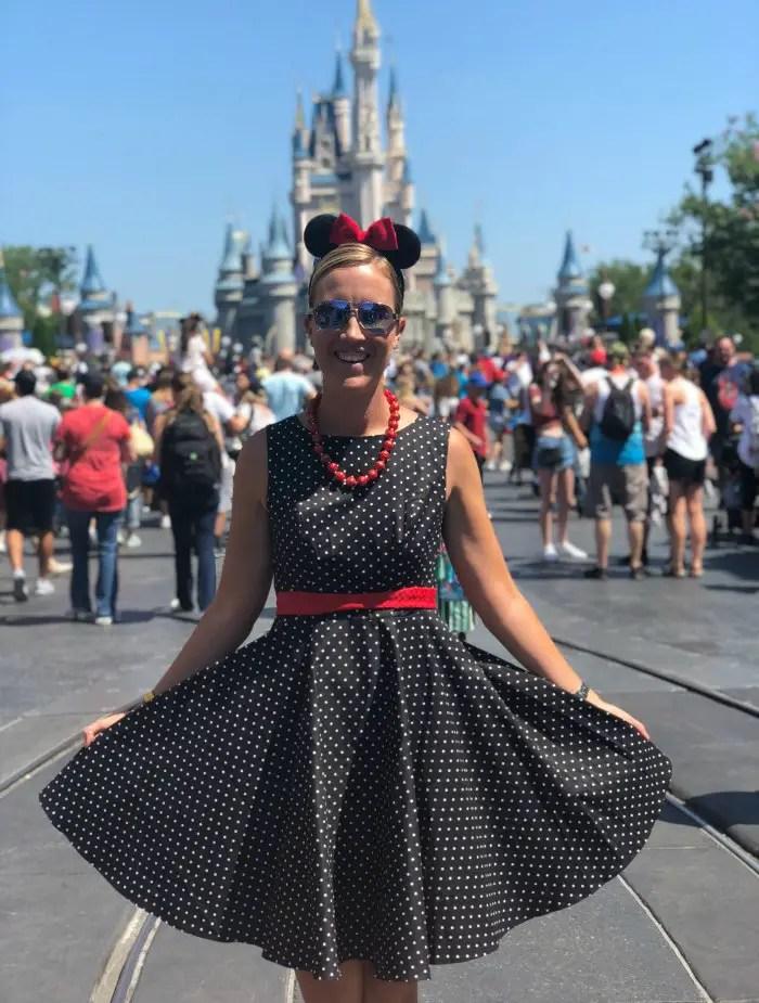 Amber Shimel at Walt Disney World