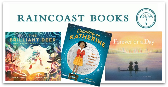 Three books from Raincoast Books for the BloggersFete 2018 giveaway