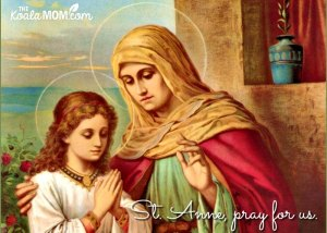 St. Anne, Grandmother of Jesus and Patron Saint of Pregnancy