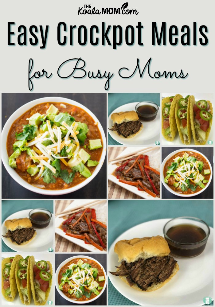 Easy Crockpot Meals for Busy Moms