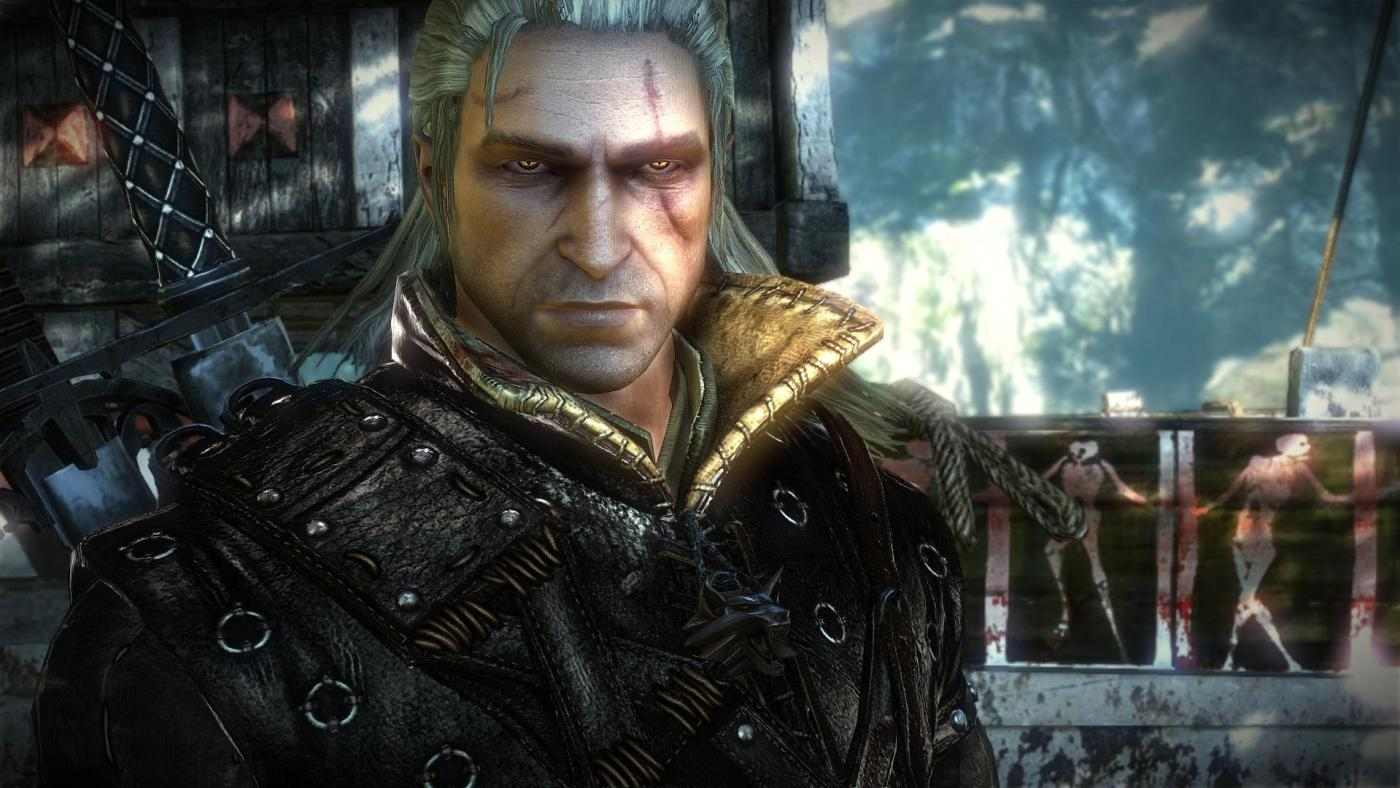 The-Witcher-2-Geralt-Boat
