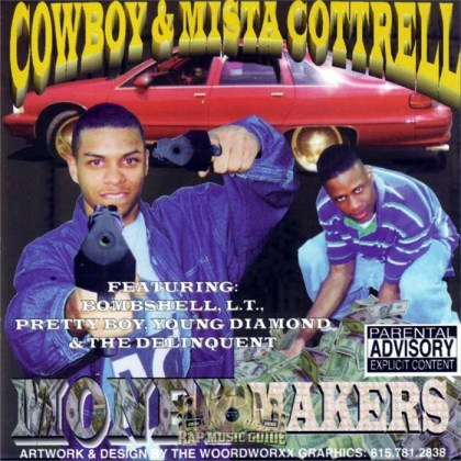 worst hip-hop album covers cowboy & mista cottrell money makers