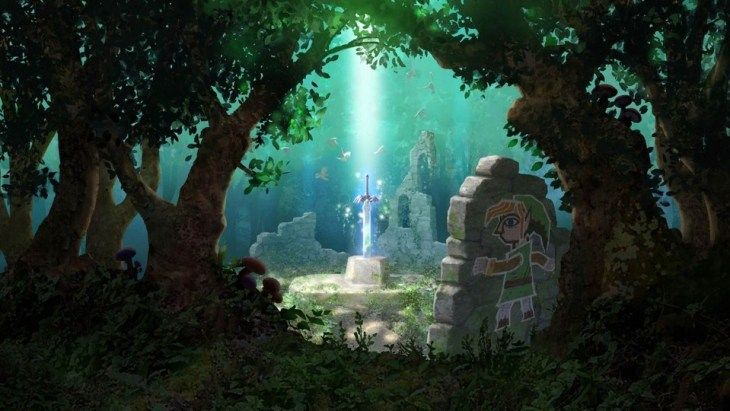link between worlds master sword pic