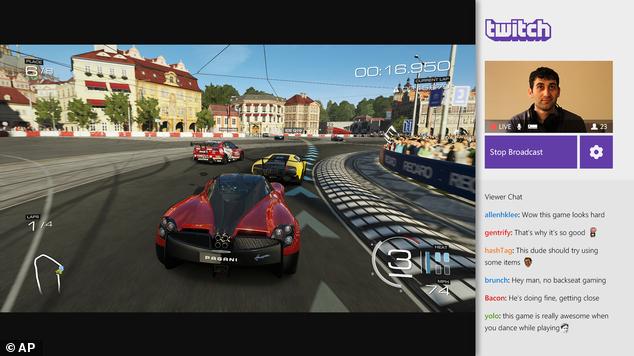 Games Twitch Xbox One
