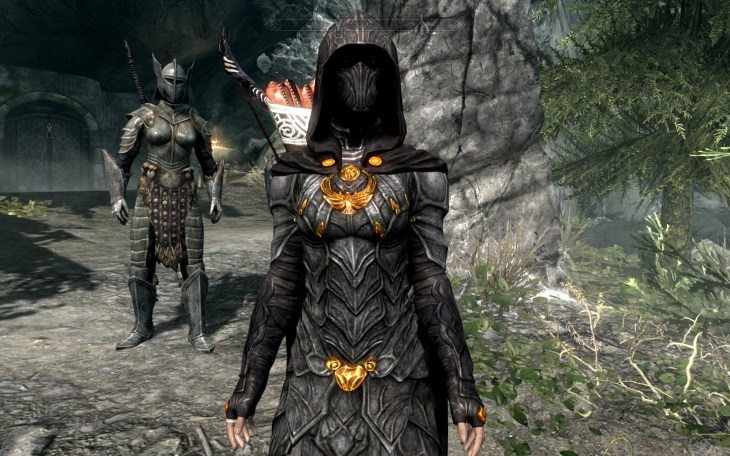 Skyrim nightinggale armour