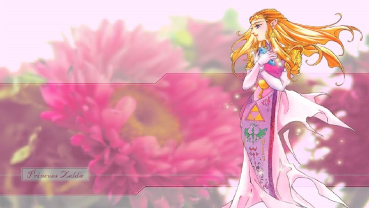 Princess-Zelda-Pink-Wallpaper