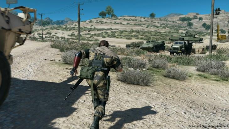 metal gear solid the phantom pain gameplay