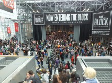 The crazinest of Saturday at NYCC