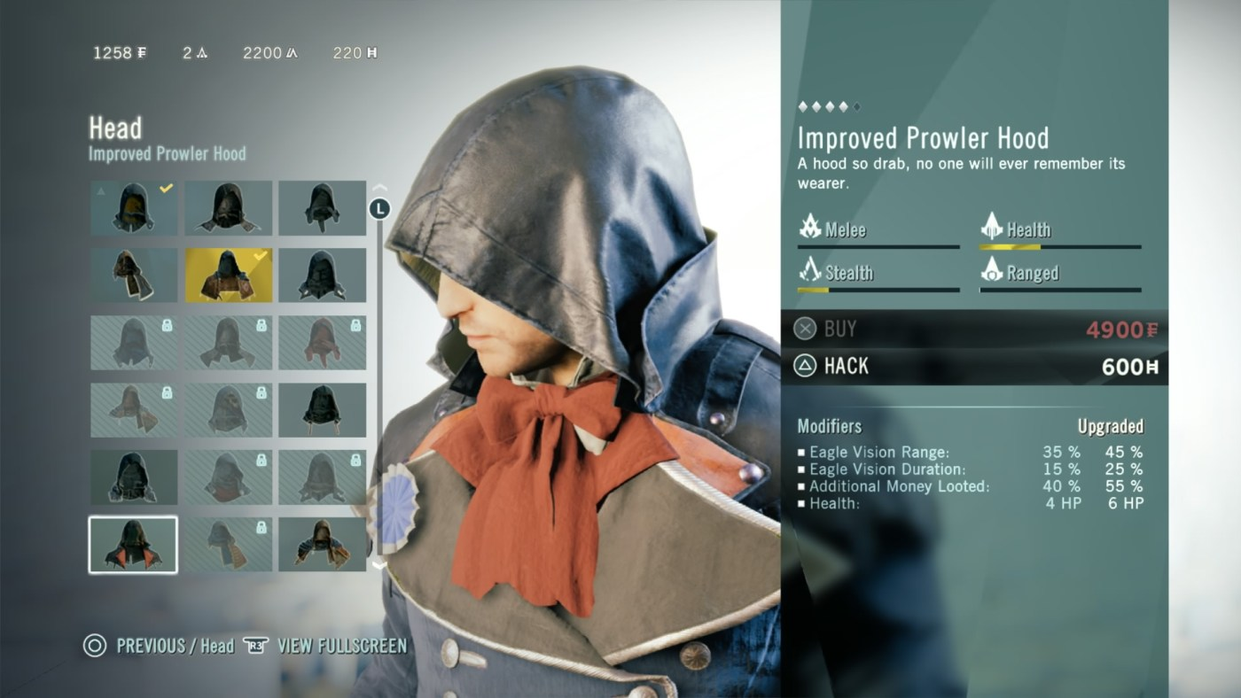 You can tailor Arno with the stats of your choice