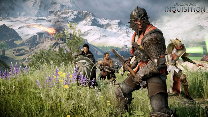 Dragon Age Inquisitor-and-Followers