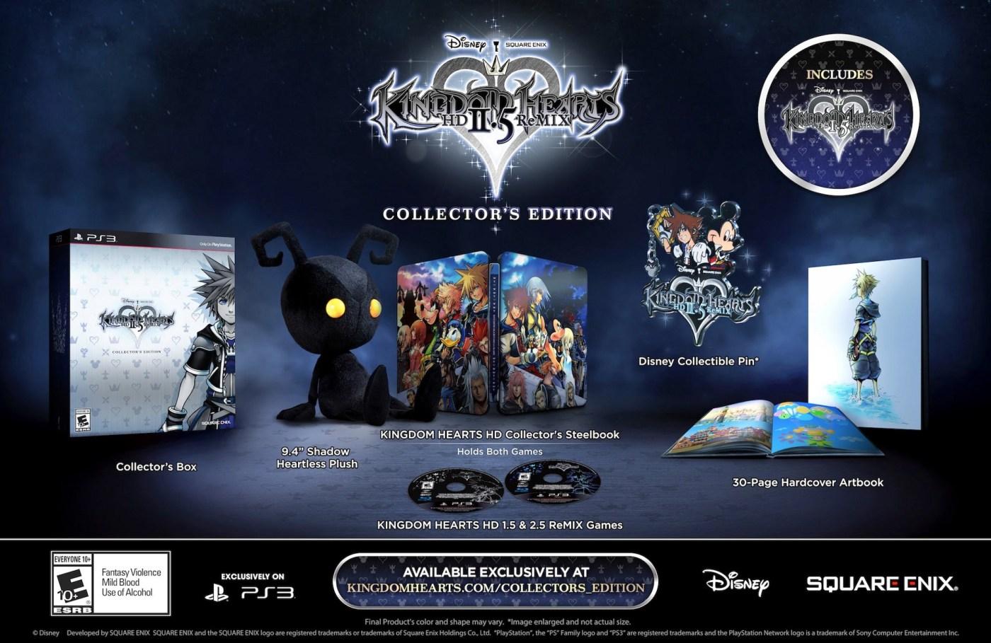 Kingdom-Hearts-HD-2.5-ReMIX collector's edition