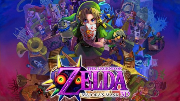 The Legend of Zelda - Majora's Mask 3D illustration cropped