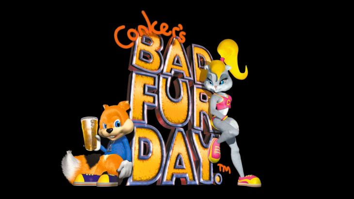 Conkers Bad Fur Day - Rare Games