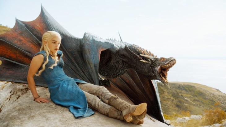 Game of Thrones - Drogon_Season_4